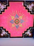 L'art sur le plafond Image libre de droits
