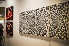 L'arte contemporanea ARCO giusto comincia la sua trentatreesima edizione con Finl Immagini Stock