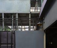L'arte degli elementi della via e dell'architettura Fotografia Stock
