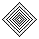 l'arte del diamante allinea il geometrics Fotografie Stock