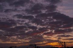 L'arte della natura nel cielo Immagine Stock Libera da Diritti