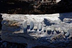 L'arte di pietra, festa wriiten in pietre immagine stock libera da diritti