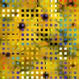 L'arte moderna ha ispirato la composizione illustrazione vettoriale