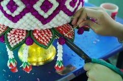 Corde de coupe d'artisan photos libres de droits
