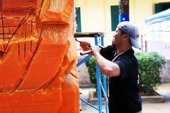 L'artista del festival 2012 della candela di Ubon Immagini Stock Libere da Diritti