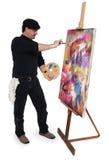 L'artiste Photo stock