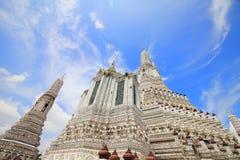 L'arun Temple of Dawn de Wat, où est les attractions de la Thaïlande pour la plupart de voyageur viendra à visiter photo libre de droits