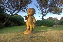 L'ascétique - sculptez par la mer 2014 photos stock