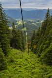 L'ascenseur à la crête de Snezhanka Photographie stock