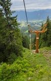 L'ascenseur à la crête de Snezhanka Photo stock