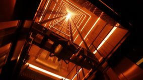 L'ascenseur en verre clips vidéos