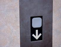 L'ascenseur se boutonnent vers le bas photos libres de droits