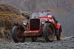 L'ascensione della collina di Honister fotografie stock libere da diritti
