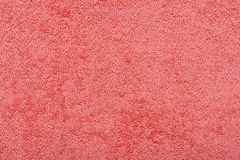 L'asciugamano di rosso di Terry Immagini Stock Libere da Diritti