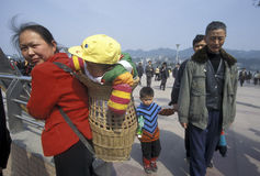 L'ASIA CINA CHONGQING Fotografie Stock Libere da Diritti