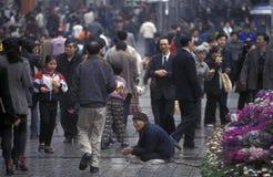 L'ASIA CINA CHONGQING Fotografie Stock