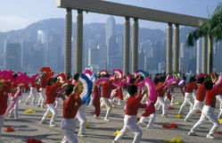L'ASIA CINA HONG KONG Fotografia Stock Libera da Diritti