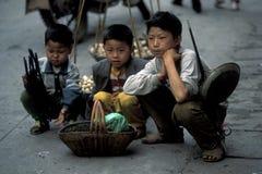 L'ASIA CINA IL FIUME CHANG JIANG Fotografia Stock Libera da Diritti
