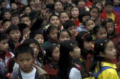 L'ASIA CINA IL FIUME CHANG JIANG Immagini Stock Libere da Diritti