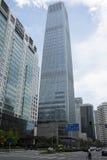 L'Asia, Cina, Pechino, affare centrale di CBD, architettura di Œmodern del ¼ della torre 3ï del World Trade Center della Cina Fotografia Stock Libera da Diritti