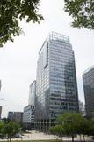 L'Asia, Cina, Pechino, centro direzionale di CBD, affare internazionale complesso, architettura moderna della città Fotografia Stock Libera da Diritti