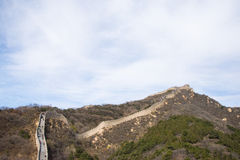 L'Asia Cina, Pechino, monumenti storici, badaling la grande muraglia Immagine Stock