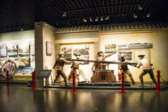 L'Asia Cina, Pechino, museo del fuoco, centro espositivo dell'interno Immagini Stock