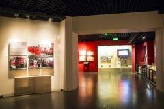 L'Asia Cina, Pechino, museo del fuoco, centro espositivo dell'interno Immagine Stock Libera da Diritti