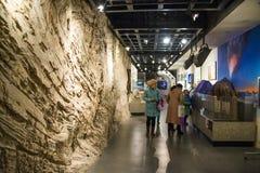 L'Asia Cina, Pechino, museo geologico, centro espositivo dell'interno Fotografia Stock Libera da Diritti