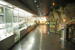 L'Asia Cina, Pechino, museo geologico, centro espositivo dell'interno Immagini Stock