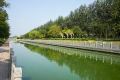 L'Asia Cina, Tientsin, Wuqing, ambiente ecologico urbano Immagini Stock Libere da Diritti