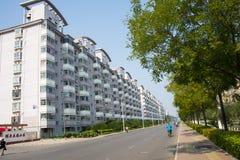 L'Asia Cina, Tientsin, Wuqing, zona residenziale urbana Immagine Stock Libera da Diritti