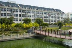 L'Asia Cina, Tientsin, Wuqing, zona residenziale urbana Immagine Stock