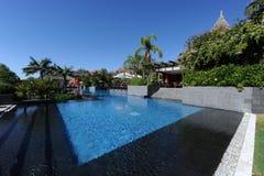 L'Asia fa il giardinaggio hotel, Benidorm, Spagna Immagini Stock