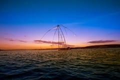 L'Asia, provincia di Phatthalung, Tailandia, attrezzatura, pesce immagini stock libere da diritti
