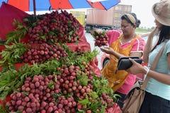 L'ASIA TAILANDIA PHUKET MARKT Fotografie Stock Libere da Diritti