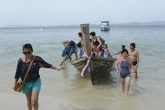 L'ASIA TAILANDIA PHUKET RAWAI Fotografia Stock