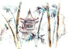l'asie illustration libre de droits