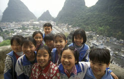 L'ASIE CHINE GUILIN Image stock