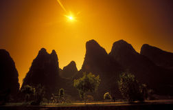 L'ASIE CHINE GUILIN Photos libres de droits