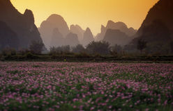 L'ASIE CHINE GUILIN Images stock