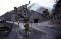 L'ASIE CHINE LE FLEUVE YANGTZE Photographie stock libre de droits
