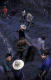 L'ASIE CHINE LE FLEUVE YANGTZE Images stock