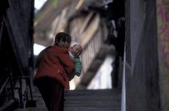 L'ASIE CHINE LE FLEUVE YANGTZE Images libres de droits