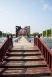 L'Asie Chine, le Wuqing Tianjin, la porte culturelle de conversion de parc, de place, d'espace et de temps Photos libres de droits