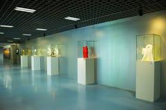 L'Asie Chine, Pékin, hall d'exposition de planification, ¼ d'intérieur Œ de hallï d'exposition Photo stock