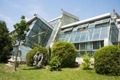 L'Asie Chine, Pékin, jardin botanique, serre chaude images libres de droits
