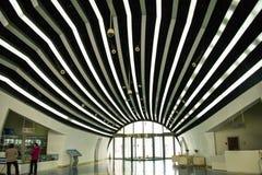 L'Asie Chine, Pékin, musée d'aviation civile, hall d'exposition d'intérieur Image stock