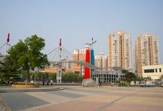 L'Asie Chine, Pékin, parc de palais de Sun, ¼ Œ d'architectureï de paysage Images stock