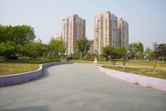 L'Asie Chine, Pékin, parc de palais de Sun, ¼ Œ d'architectureï de paysage Photo libre de droits